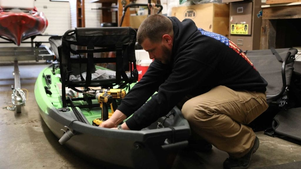 Tackle and Field Services - Kayak Repair