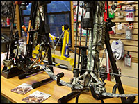 Crossbows by Bows by Mathews, Mission,  Bowtech, Carbon Express and Parker