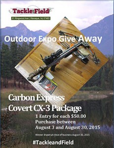 Carbon Express Covert CS-3 Package Giveaway