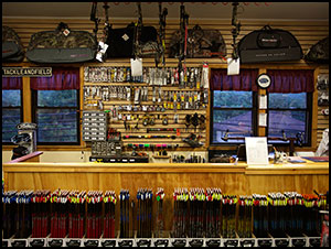 Tackle and Field has a full service shop for bows, crossbows, service and accessories.