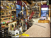 Archery service including bow tuning, restringing etc.