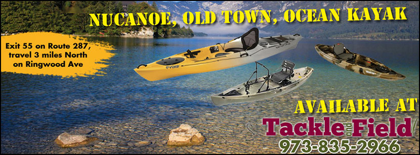 NuCanoe, Old Town and Ocean Kayak models are available