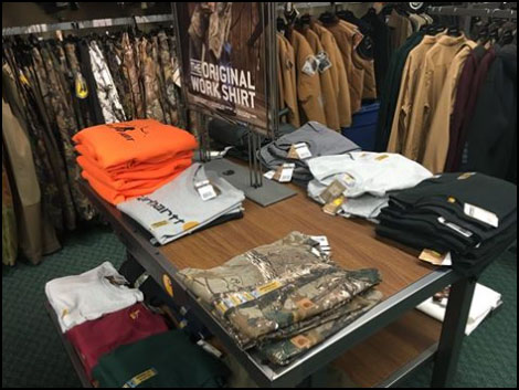 Carhartt Outdoor Clothing for the hunting season