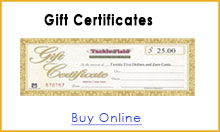 Tackle and Field Gift Certificates