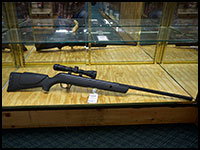 New and Used Rifles by brands such as Thompson Center, Winchester and more.