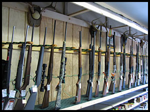 Shotguns-rifles-handguns