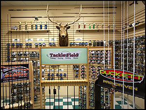 We carry a full line of fishing rods, baits and accessories