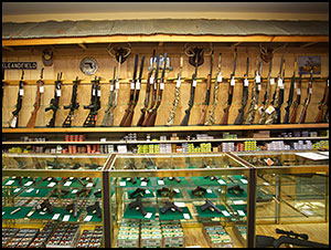 We have a selection of quality new and Used firearms
