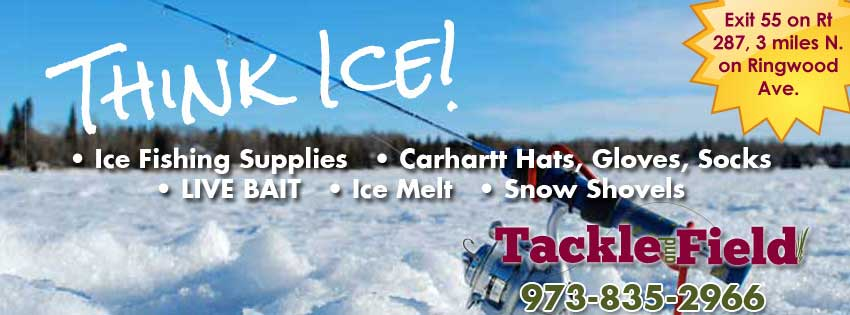 Ice fishing supplies, Carhartt winter clothing, Live bait, Ice Melt, Snow Shovels