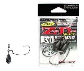 Decoy Tuned Plus Zero Dan Heavy Worm 317 Weighted Hook