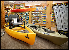 Paddle boats including Kayaks by NuCanoe & Evoke