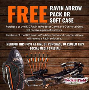 Ravin R10 & R20 Crossbow Promotion