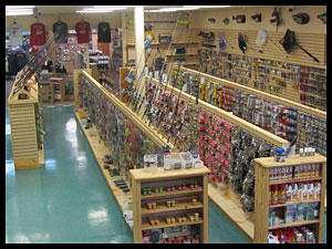 Tackle and Field for outdoor supplies including, fishing, hunting. marine. clothing and more