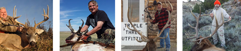 Triple Three Outfitters Wyoming Elk, Antelope and Deer outfitter