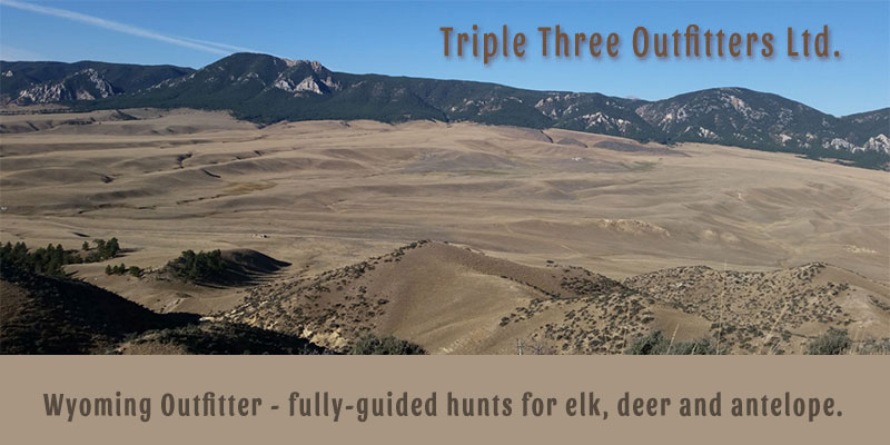 Triple Three Outfitters Ltd. - Fully-guided hunts for elk, deer and antelope.